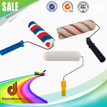 Custom High Durability 5 Lines Wall Synthetic Fiber Textured Plastic Paint Roller
