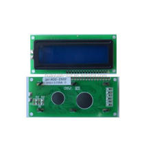 lcd display module black text monochrome 16 characters 2 lines lcd module