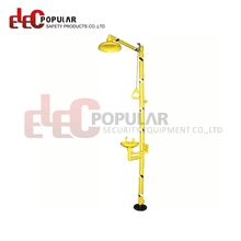 Elecpopular Wenzhou Durable ABS Combination Safety Shower And Eye Wash Station