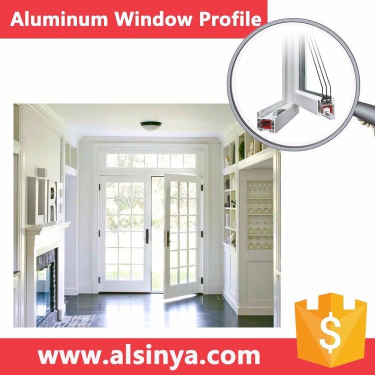 Seiko Quality aluminum frames door parts with different surface treatment
