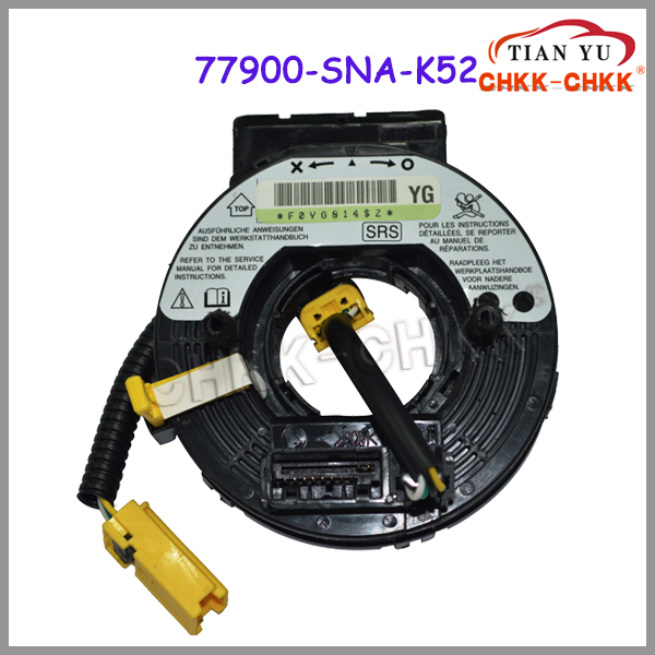 Promotion 77900-SNA-K52 Auto parts clock spring airbag