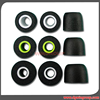 Large Hole Slow Rebound Memory Foam Ear Tips for Earphone Use Custom Color
