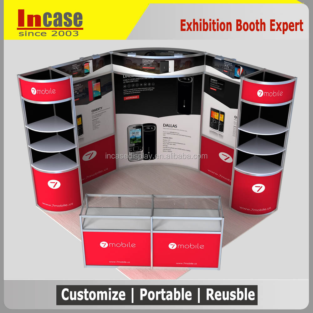 Exhibition Booth Frame : Incase aluminum frame standard exhibition booth for