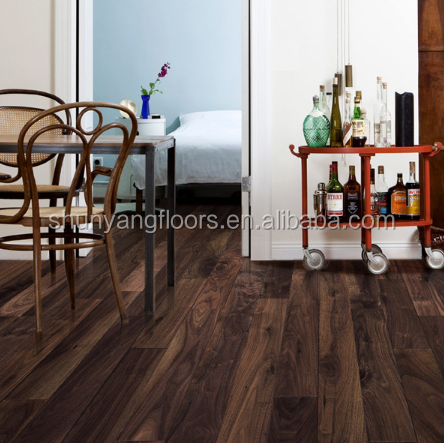 American Black walnut engineered wood <strong>flooring</strong>