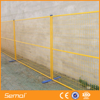 china supplier temporary fence brick wall panels