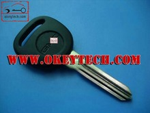 "Okeytech GM chip key blank with ""circle plus"" on the blade gm transponder key"