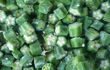 Hot Sell strage Frozen Okra