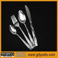 top quality luxury stainless steel german flatware biodegradable disposable tableware