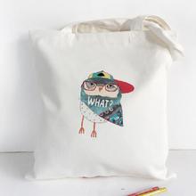 New Style Eco-friendly Promotional Standard Size Recycled Material Tote Cotton Bag
