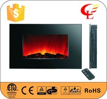LED Electric gas flame effect infrared fireplace