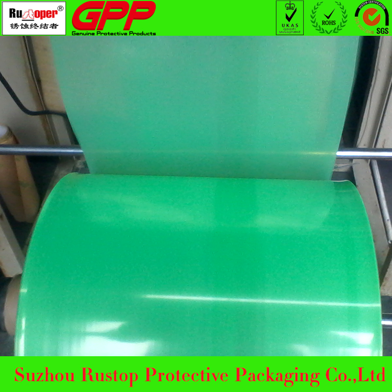 for multi metals transparent pe vci plastic film