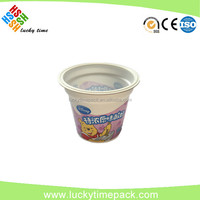 Heat seal die cut aluminum foil lid for pp/ps/pet/pvc/pe cup