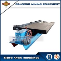 High recovery gold separating machine mining shaking table