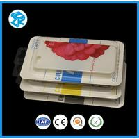 Popular transparent plastic mobile cell phone packaging box case blister pack