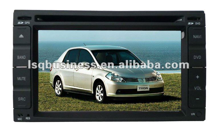 Car DVD Player For Juke With bluetooth,GPS,TV,Touch screen function.