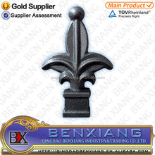 BX new models ornamental forged iron wrought iron Speers/spearpoint/spearhead