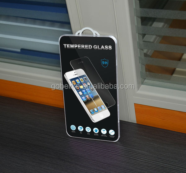 Colored Tempered glass screen protector for iPhone 5s