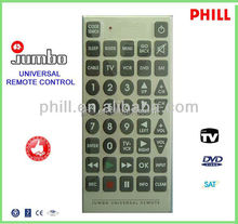 Jubmo Universal Remote Control PH-RE8A for European Market ,Old man Remote