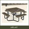 Square Outdoor Tables Bistro Set Commerical
