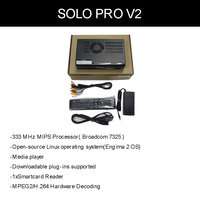 Solo Pro Sunray Box Digi Satellite Receiver DVB-S2 Tuner Enigma 2 Linux PVR Sharing Youtube Sat Box Enigma2 Decoder Solo Pro v2