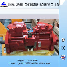 KAWASAKI Hydraulic piston pump, K3V112DTP16AR-9N49-Z piston pump used on SH200-3 Excavator, hydraulic pump