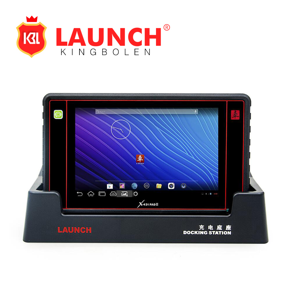2017 New Arrival X431 PAD II 100% Original WiFi 2 year free Update Launch X-431 Pad 2 Universal Diagnostic Scanner