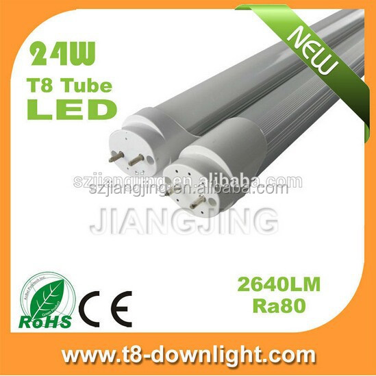 Cheap 2400 x 40w and 1200 x 20w 5 yrs guarantee LED tube for supermarket