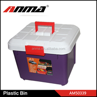 PP plastic storage bin / picnic ice cooler box / car trunk organizer
