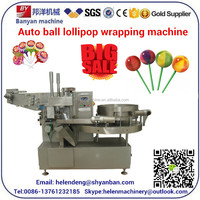 YB-120 Lollipop Candy Bunch Wrapping Packing Machine