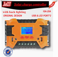 20A solar charge ps3 controller circuit with LCD screen and 2USB is available