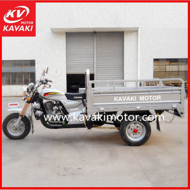 Carriage Folding Tricycle 3 Wheeler Tractors Tricycle Dealer / Hydraulic Lifter Available For Selection