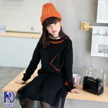 sweater manufacturer new arrival fashion pocket girl sweater for sale
