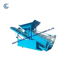 mining vibrating grizzly screen feeder on hot