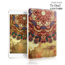 hard color print silicon rubber tablet cover For Apple ipad mini 123