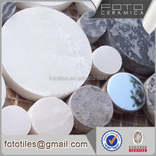 Round stainless steel mix mosaic tile made in foshan china foto