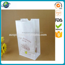Reusable microwave custom logo shaped plastic popcorn bag