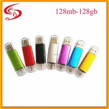 Real Capacity Gift 4gb 8gb 16gb Otg USB 2.0 Flash Drive , Flash Drive Otg 2.0 32gb 64gb