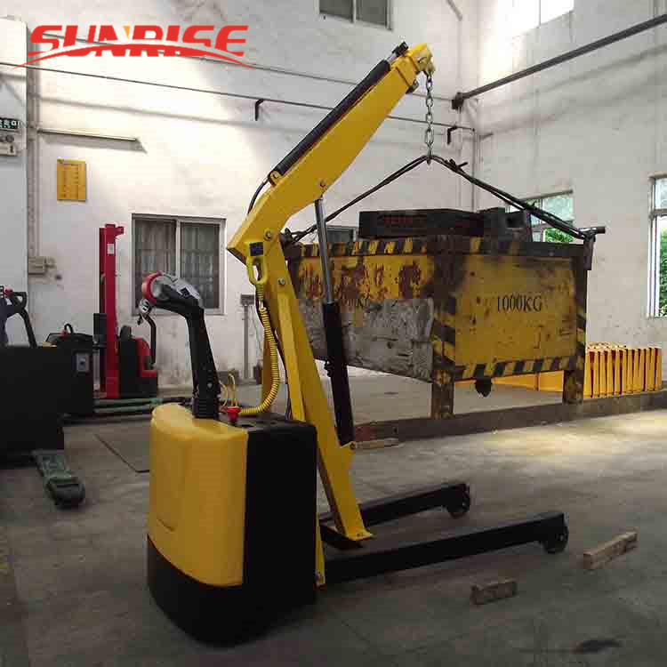 1.2 ton mini truck electric crane made in china factory