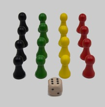 Custom Wooden Board Game Pieces Wooden Board Game Pawn
