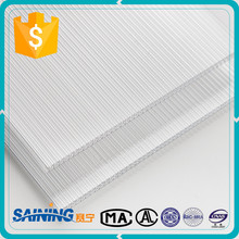 Anti-drop Tech Easy to Clean 6Mm Multi-Wall Polycarbonate Sheet