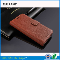 Luxury Leather Case For HTC ONE Cover for HTC M7 case wallet
