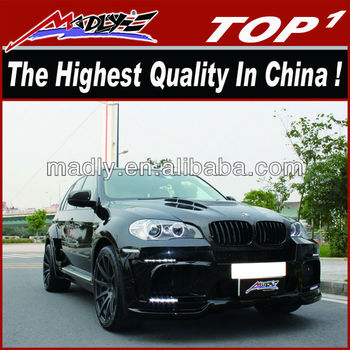auto parts for bmw New body kit for BM-W X5 E70 2010-2013 HM style-Wide-body