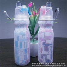 Plastic Material Classic Souvenir Water Bottles For Sports