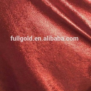 High quality nice properties of shimmer velvet 100 polyester knit fabric