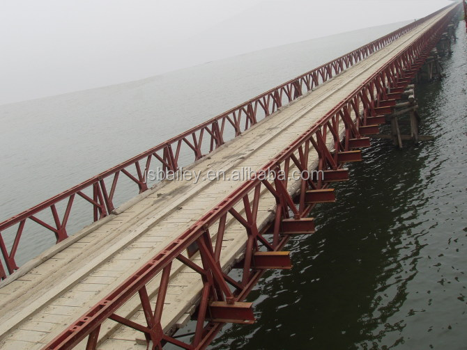 steel bridge components/panel/frame/decking/bolts for bridges