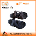 2017 summer brand new leather men sandal shoes in china clearout shoes discount shoes