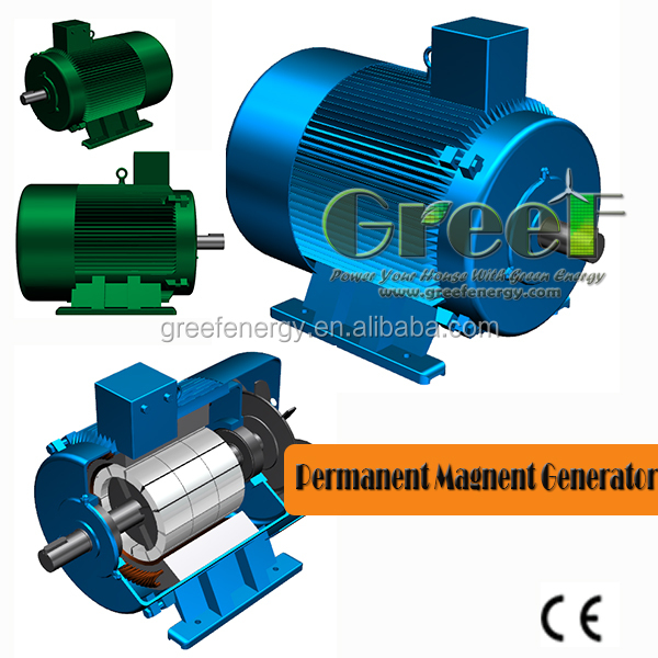 20kw generator low speed low rpm permanent magnet for Magnetic motor electric generator for sale