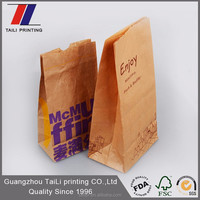 High quality brown kraft chicken bags wholesale