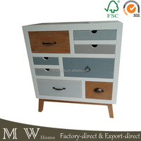 french wood furniture 8 drawer chest, modern style mixed color 8 drawer chest, 8 drawer chest