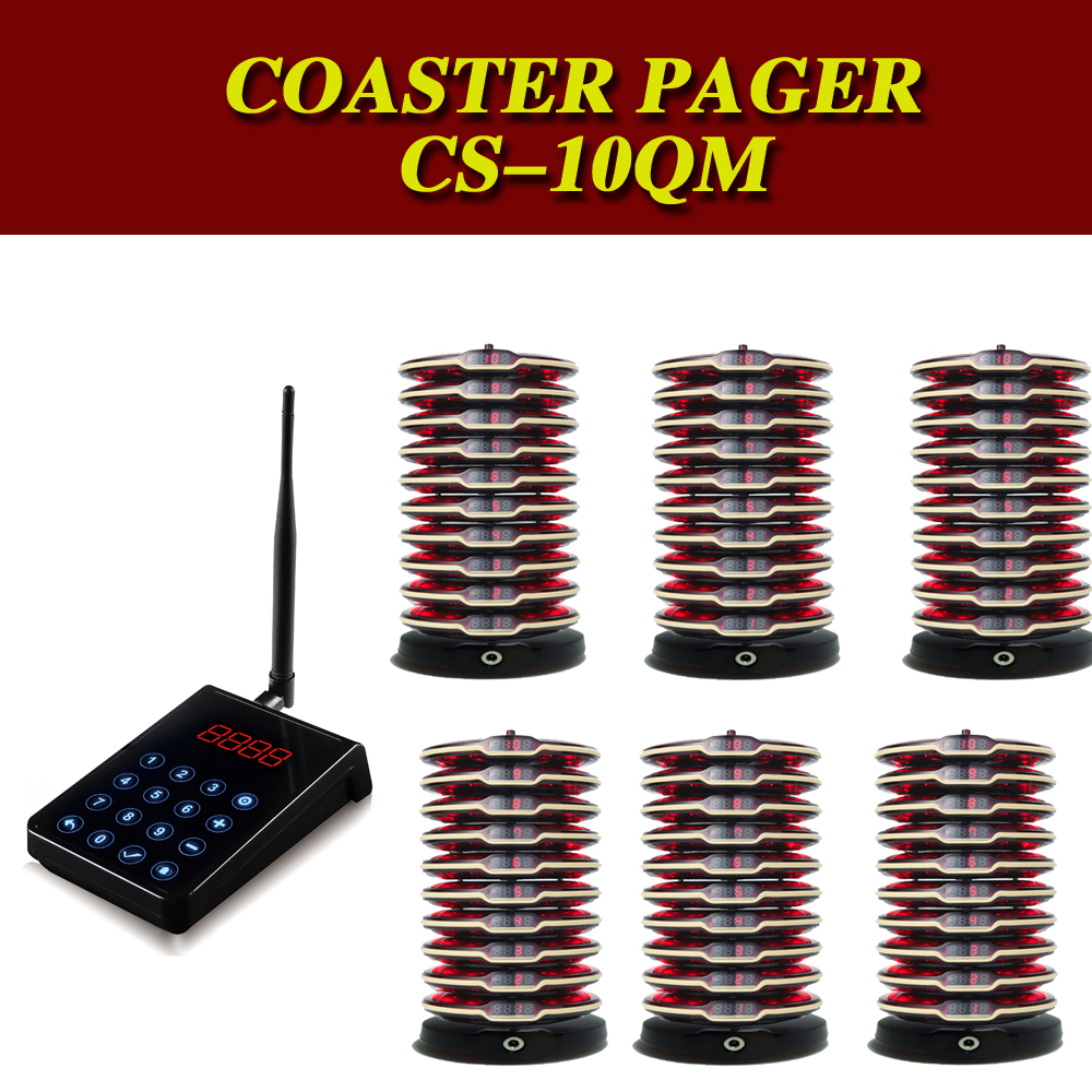 Pocsag Pager Restaurant Wireless Guest Coaster Pager Paging System Cafe/coffee Paging System